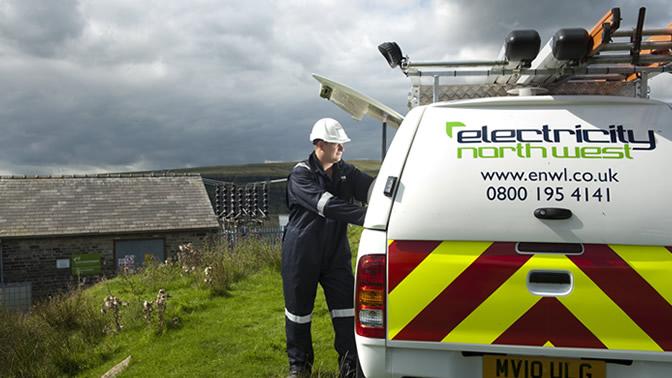 Electricity North West Limited, Storbritannien